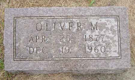 HANSON, OLIVER M - Lincoln County, South Dakota   OLIVER M HANSON - South Dakota Gravestone Photos