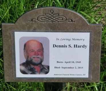 HARDY, DENNIS S. - Lincoln County, South Dakota | DENNIS S. HARDY - South Dakota Gravestone Photos