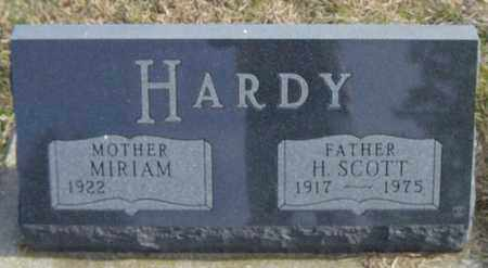 HARDY, MIRIAM - Lincoln County, South Dakota | MIRIAM HARDY - South Dakota Gravestone Photos