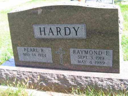 HARDY, RAYMOND - Lincoln County, South Dakota   RAYMOND HARDY - South Dakota Gravestone Photos