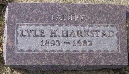 HARESTAD, LYLE H - Lincoln County, South Dakota | LYLE H HARESTAD - South Dakota Gravestone Photos