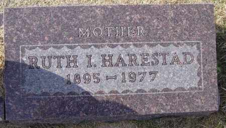 HARESTAD, RUTH I - Lincoln County, South Dakota | RUTH I HARESTAD - South Dakota Gravestone Photos