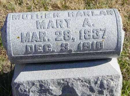 HARLAN, MARY A - Lincoln County, South Dakota | MARY A HARLAN - South Dakota Gravestone Photos