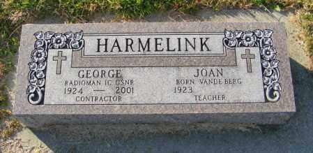 HARMELINK, GEORGE - Lincoln County, South Dakota   GEORGE HARMELINK - South Dakota Gravestone Photos