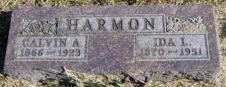 HARMON, CALVIN A - Lincoln County, South Dakota | CALVIN A HARMON - South Dakota Gravestone Photos