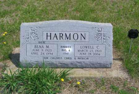 HARMON, LOWELL C - Lincoln County, South Dakota | LOWELL C HARMON - South Dakota Gravestone Photos