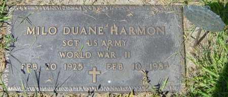 """HARMON MILITARY, MILO DUANE  """"MIKE"""" - Lincoln County, South Dakota   MILO DUANE  """"MIKE"""" HARMON MILITARY - South Dakota Gravestone Photos"""