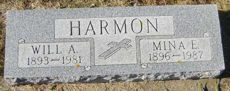 HARMON, MINA E - Lincoln County, South Dakota | MINA E HARMON - South Dakota Gravestone Photos