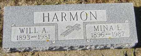 HARMON, WILL A - Lincoln County, South Dakota | WILL A HARMON - South Dakota Gravestone Photos