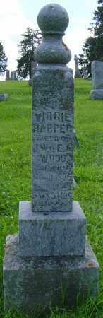 HARPER, VIRGIE - Lincoln County, South Dakota | VIRGIE HARPER - South Dakota Gravestone Photos