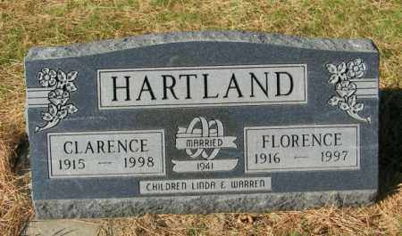 HARTLAND, FLORENCE - Lincoln County, South Dakota   FLORENCE HARTLAND - South Dakota Gravestone Photos