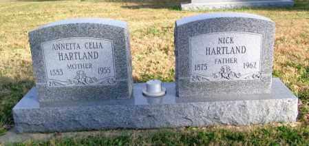 HARTLAND, ANNETTA CELIA - Lincoln County, South Dakota | ANNETTA CELIA HARTLAND - South Dakota Gravestone Photos