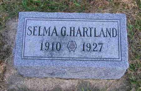 HARTLAND, SELMA G. - Lincoln County, South Dakota | SELMA G. HARTLAND - South Dakota Gravestone Photos