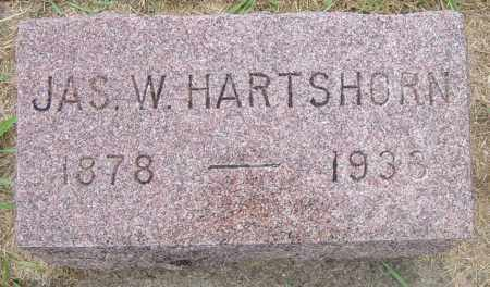 HARTSHORN, JAS W - Lincoln County, South Dakota | JAS W HARTSHORN - South Dakota Gravestone Photos