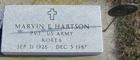 HARTSON, MARVIN E - Lincoln County, South Dakota | MARVIN E HARTSON - South Dakota Gravestone Photos