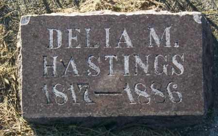 HASTINGS, DELIA M. - Lincoln County, South Dakota | DELIA M. HASTINGS - South Dakota Gravestone Photos