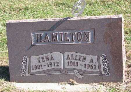 HAMILTON, TENA - Lincoln County, South Dakota | TENA HAMILTON - South Dakota Gravestone Photos