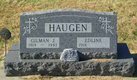 HAUGEN, GILMAN J - Lincoln County, South Dakota | GILMAN J HAUGEN - South Dakota Gravestone Photos
