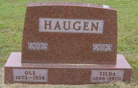HAUGEN, TILDA - Lincoln County, South Dakota | TILDA HAUGEN - South Dakota Gravestone Photos