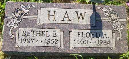 HAW, BETHEL E - Lincoln County, South Dakota | BETHEL E HAW - South Dakota Gravestone Photos