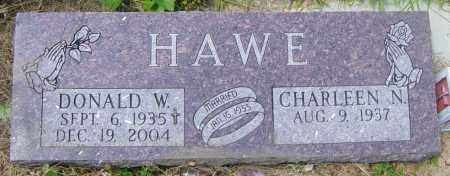 HAWE, DONALD W - Lincoln County, South Dakota | DONALD W HAWE - South Dakota Gravestone Photos