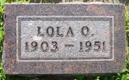 HAWE, LOLA O - Lincoln County, South Dakota   LOLA O HAWE - South Dakota Gravestone Photos