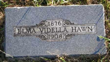 HAWN, ELMA VIDELLA - Lincoln County, South Dakota   ELMA VIDELLA HAWN - South Dakota Gravestone Photos