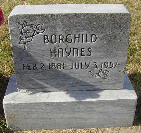 HAYNES, BORGHILD - Lincoln County, South Dakota | BORGHILD HAYNES - South Dakota Gravestone Photos