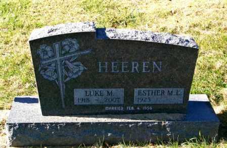 HEEREN, ESTHER M L - Lincoln County, South Dakota | ESTHER M L HEEREN - South Dakota Gravestone Photos