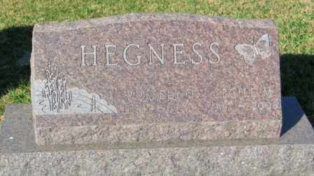 HEGNESS, RUSSELL O. - Lincoln County, South Dakota | RUSSELL O. HEGNESS - South Dakota Gravestone Photos