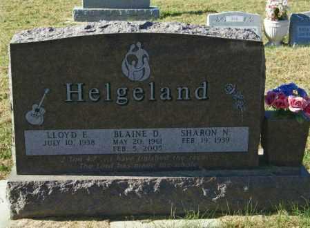 HELGELAND, LLOYD E - Lincoln County, South Dakota   LLOYD E HELGELAND - South Dakota Gravestone Photos