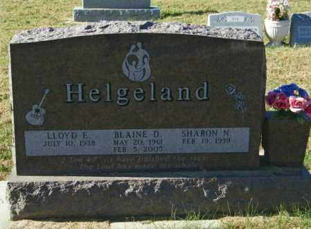 HELGELAND, BLAINE D - Lincoln County, South Dakota | BLAINE D HELGELAND - South Dakota Gravestone Photos