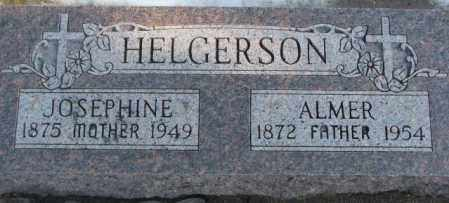 HELGERSON, JOSEPHINE - Lincoln County, South Dakota | JOSEPHINE HELGERSON - South Dakota Gravestone Photos