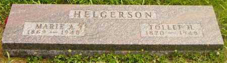 HELGERSON, MARIE A - Lincoln County, South Dakota | MARIE A HELGERSON - South Dakota Gravestone Photos