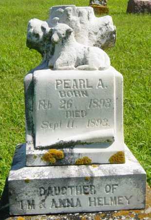 HELMEY, PEARL A - Lincoln County, South Dakota | PEARL A HELMEY - South Dakota Gravestone Photos