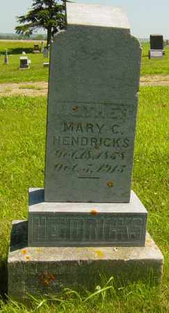 HENDRICKS, MARY C - Lincoln County, South Dakota   MARY C HENDRICKS - South Dakota Gravestone Photos