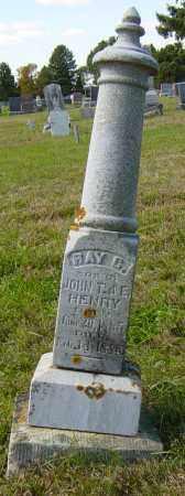 HENRY, RAY G - Lincoln County, South Dakota | RAY G HENRY - South Dakota Gravestone Photos