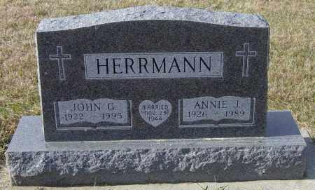 HERRMANN, ANNIE J - Lincoln County, South Dakota | ANNIE J HERRMANN - South Dakota Gravestone Photos
