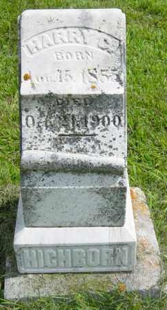HICHBORN, HARRY G - Lincoln County, South Dakota | HARRY G HICHBORN - South Dakota Gravestone Photos