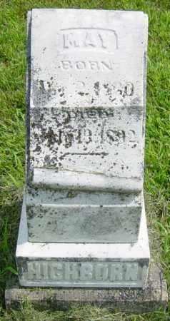 HICHBORN, MAY - Lincoln County, South Dakota | MAY HICHBORN - South Dakota Gravestone Photos