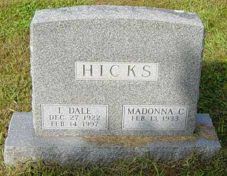HICKS, L DALE - Lincoln County, South Dakota | L DALE HICKS - South Dakota Gravestone Photos