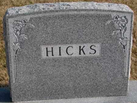 HICKS, PLOT - Lincoln County, South Dakota | PLOT HICKS - South Dakota Gravestone Photos