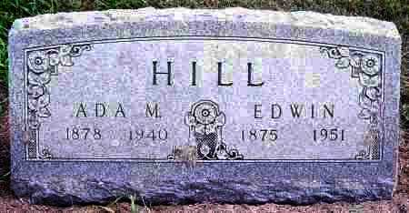 HILL, ADA M - Lincoln County, South Dakota | ADA M HILL - South Dakota Gravestone Photos