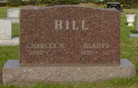 HILL, CHARLES N - Lincoln County, South Dakota   CHARLES N HILL - South Dakota Gravestone Photos