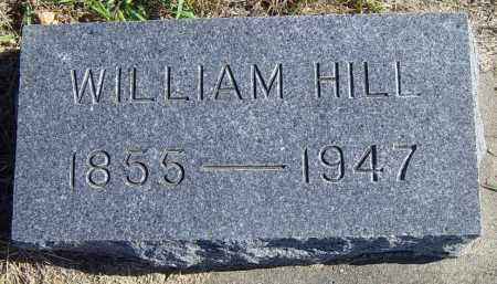 HILL, WILLIAM - Lincoln County, South Dakota   WILLIAM HILL - South Dakota Gravestone Photos