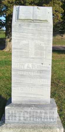 VENNARD HITCHMAN, MARY A. - Lincoln County, South Dakota | MARY A. VENNARD HITCHMAN - South Dakota Gravestone Photos