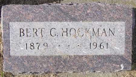HOCKMAN, BERT C - Lincoln County, South Dakota | BERT C HOCKMAN - South Dakota Gravestone Photos