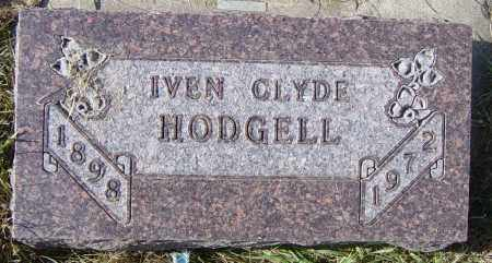HODGELL, IVEN CLYDE - Lincoln County, South Dakota | IVEN CLYDE HODGELL - South Dakota Gravestone Photos
