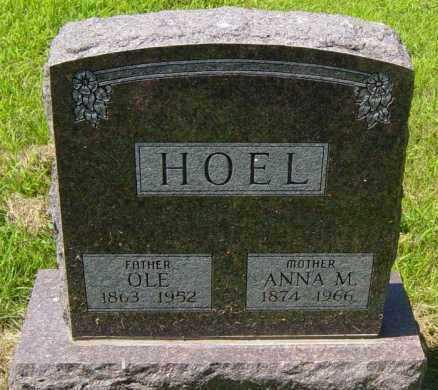 HOEL, OLE - Lincoln County, South Dakota | OLE HOEL - South Dakota Gravestone Photos