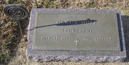 HOFF, GARY E - Lincoln County, South Dakota | GARY E HOFF - South Dakota Gravestone Photos